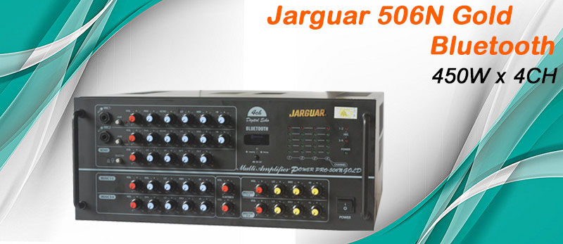 Amply Jarguar 506N Gold - Bluetooth