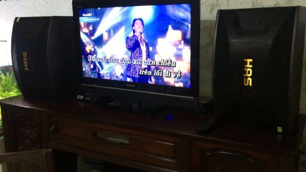 Bộ dàn karaoke giá rẻ hát cực hay của gia đình anh Tuấn Anh - Hoàn Kiếm