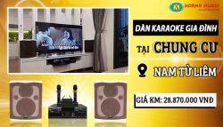 Dàn karaoke của gia đình anh Tần - Nam Từ Liêm
