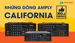 Những dòng amply California hay nhất hiện nay